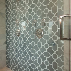 bathroom tile by B•D•G Design Group