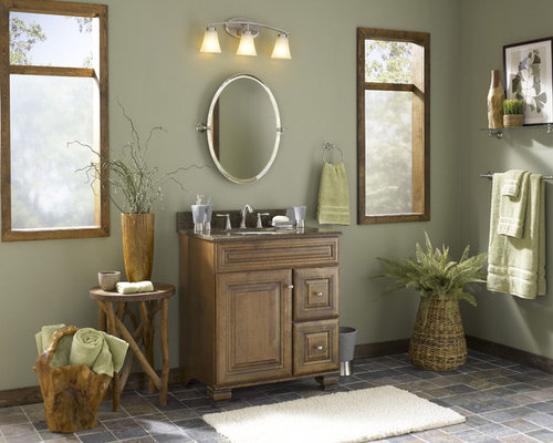 Inspiration For A Tropical Bathroom Remodel In Charlotte