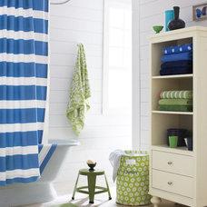 Eclectic Bathroom by Garnet Hill