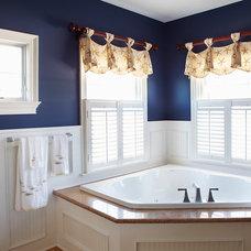 Traditional Bathroom by Bridget McMullin, ASID, CID, CAPS