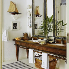 Traditional Bathroom by Go Nautical Collections