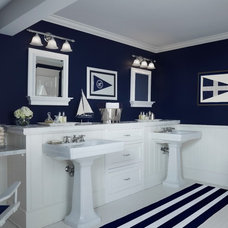 Traditional Bathroom by Cottage Company Interiors