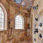 Master Bath Walk Through Shower Amp Separate Vanities