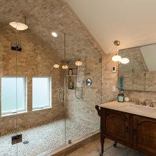 Traditional Bathroom by Bakken Design Build