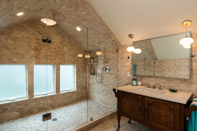 Traditional Bathroom by Bakken Design Build