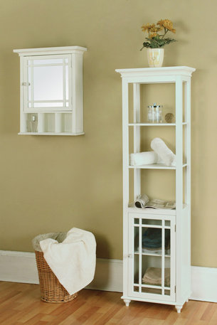 Avington Space Saver Cabinet - Transitional - Bathroom ...