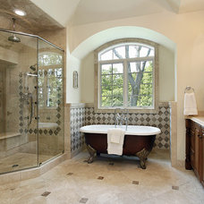 Traditional Bathroom by Neil Graham