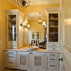 Mediterranean Bathroom by Orange Coast Interior Design