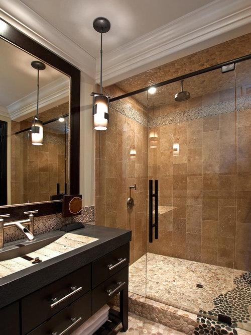 Mediterranean bathroom design ideas renovations photos for Mediterranean design bathroom