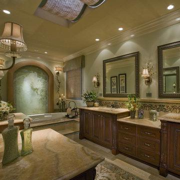 Nellie Gail Ranch Master Bath - Award Winning Complete Master Bathroom Remodel