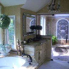 Traditional Bathroom by Falk Designs, LLC