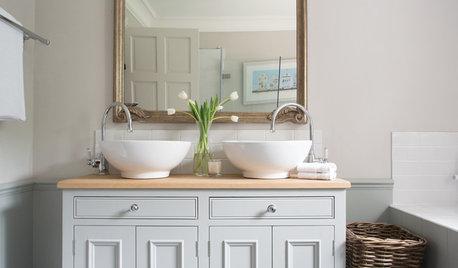 Photothèque : 53 doubles vasques optimisent la salle de bains