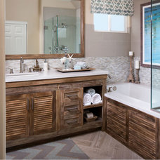 Beach Style Bathroom by Style On a Shoestring