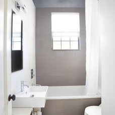 Modern Bathroom by Nerland Building & Restoration, Inc.