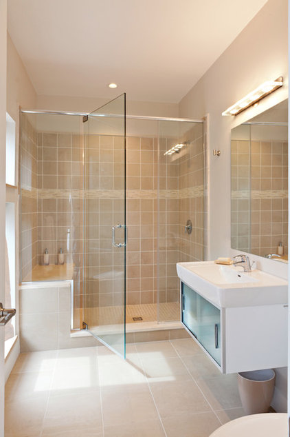 Contemporary Bathroom by A3 Architects, INC