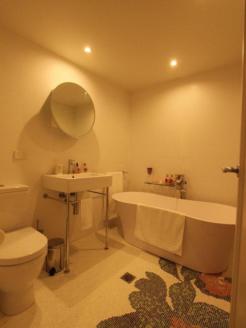 Sydney Bathroom Design Ideas Renovations Photos With Pink Walls