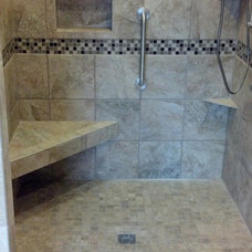 Traditional Bathroom by Rhodes Construction