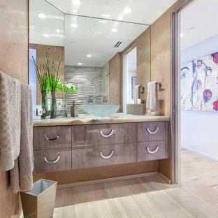 Neutral Tones in Contemporary Bathroom
