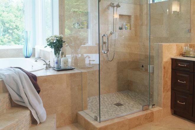 Traditional Bathroom by Plattner Custom Builders, LLC