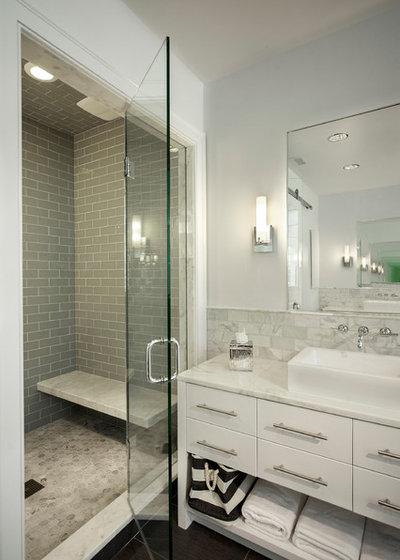 Fresh Contemporary Bathroom by Matrka Group