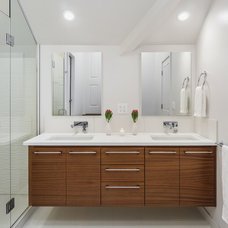 Contemporary Bathroom by Right Arm Construction