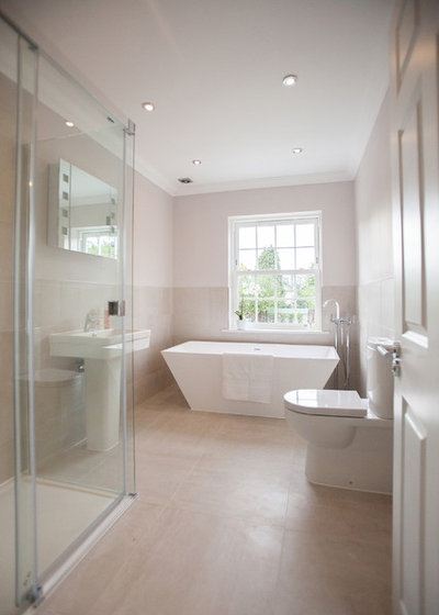 Contemporary Bathroom by Rosebank Interiors