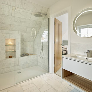 Design ideas for a classic bathroom in Sussex.