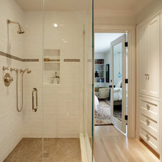 Eclectic Bathroom by shelley morris interiors