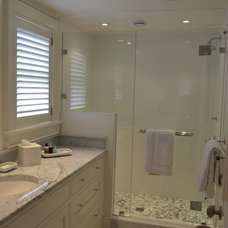 Beach Style Bathroom by Cheney Brothers Building & Renovation LLC