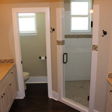 Traditional Bathroom by Green Button Homes LLC