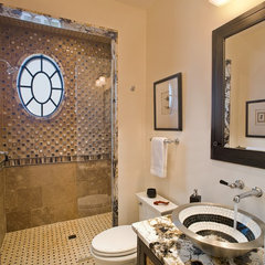 contemporary bathroom by Dewson Construction Company