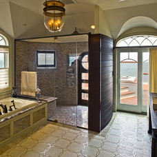 Eclectic Bathroom by Dewson Construction Company