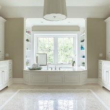 Traditional Bathroom by Dubinett Architects, llc.