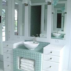 Traditional Bathroom by Molly Frey Design