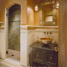 Mediterranean Bathroom by Tilde Design Studio
