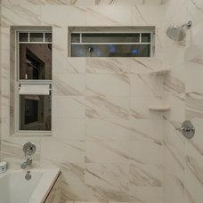 Traditional Bathroom by Urban Squared Realty, Brickley Team