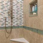 Mesquite Bathtub Raised Platform Traditional Bathroom Austin By Wr Woodworking