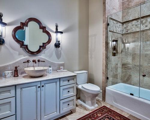 salle de bain m diterran enne photos et id es d co de salles de bain. Black Bedroom Furniture Sets. Home Design Ideas