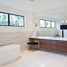 Contemporary Bathroom by Lawrence Woodcraft Architect