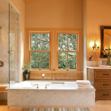 Traditional Bathroom by Dan Curran Architecture, A.I.A.