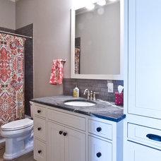 Craftsman Bathroom by Millwork Visions LLC