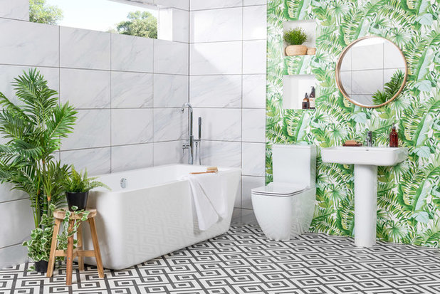 Contemporary Bathroom by Bathroom Takeaway