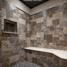 Rustic Bathroom by MossCreek