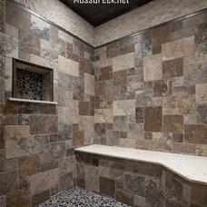 Rustic Bathroom by MossCreek
