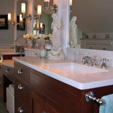 Traditional Bathroom by Montage Design Studio