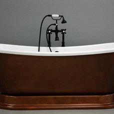 Contemporary Bathroom by Baths of Distinction Inc.