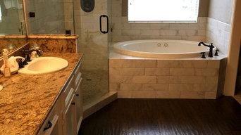 New Hampton Drive shower remodel