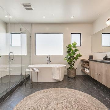 New Home Construction Venice Beach Master Bathroom