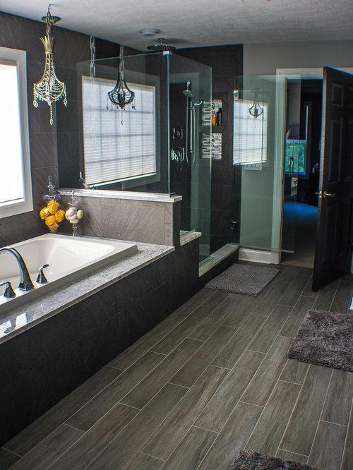 badezimmer mit grauen fliesen novabell ideen beispiele. Black Bedroom Furniture Sets. Home Design Ideas