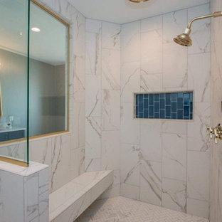 ideas de baño gris y azul Ideas Para Cuartos De Bao Fotos De Cuartos De Bao Grises